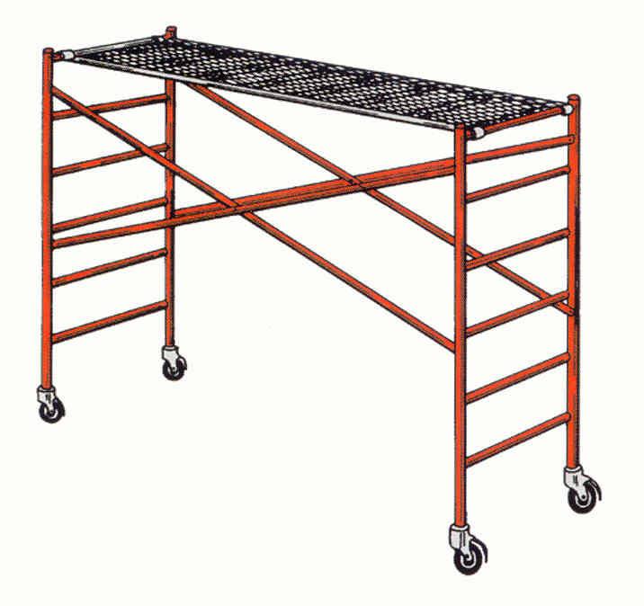 Portable Scaffolding With Wheels : Rentallglynn scaffolding rentals price list